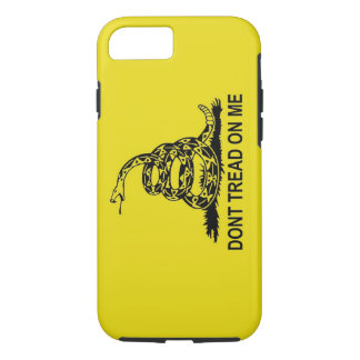 DON'T TREAD ON ME 2ND AMENDMENT Gadsden Flag iPhone 7 Case