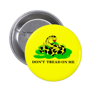 Dont Tread on Me Buttons