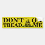 Don't Tread On Me Bumper Stickers
