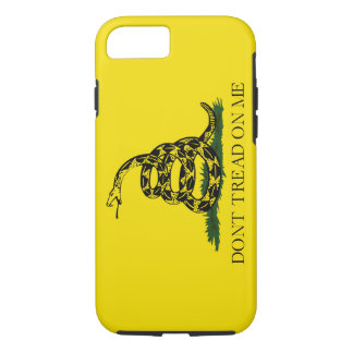 Don't Tread on Me Gadsden American Flag iPhone 8/7 Case
