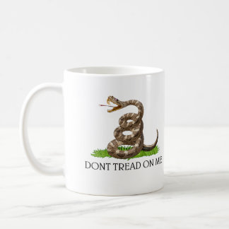 Dont Tread On Me Gadsden American Revolution Flag Coffee Mug