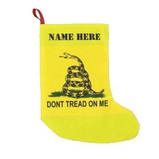 DONT TREAD ON ME SMALL CHRISTMAS STOCKING