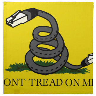 dont-tread-on-net2 napkin