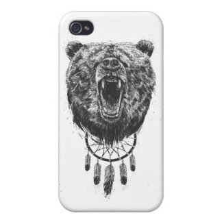 Don't wake the bear iPhone 4 cover