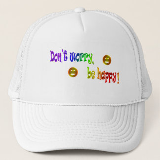 Don't Worry, Be Happy! Hat