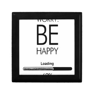 DONT WORRY BE HAPPY LOADING.ai Gift Box