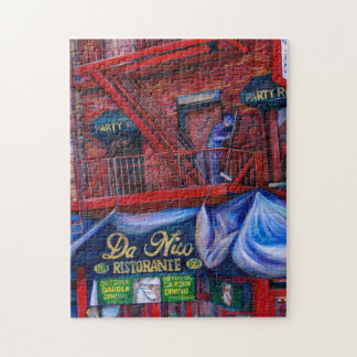 Don't You Love Red Paint? New York City, New York Jigsaw Puzzle