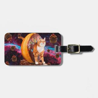Donut cat - Cupcake  cat Luggage Tag