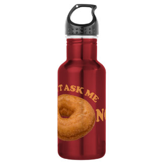 Donut Humor - choose color 532 Ml Water Bottle