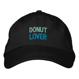 DONUT LOVER cap Embroidered Baseball Caps