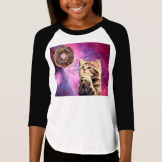 Donut Praying Cat T-Shirt