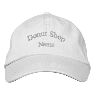 Donut Shop Name Embroidered Hat