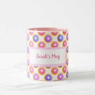 Donut with Sprinkles - Personalised Mug