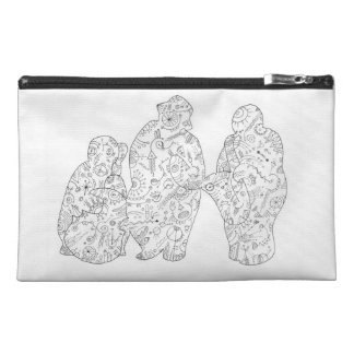 Doodle band on a purse