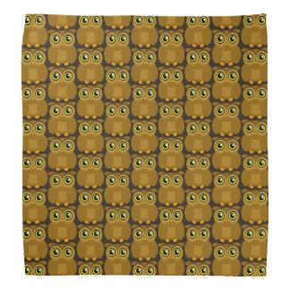 Doodle Owl TP Head Kerchiefs