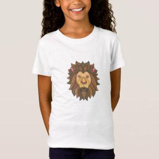 Doodled Lion Grrr!! T-Shirt