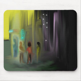 """Door Check"" Mouse Pad"