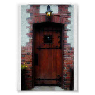 Door to the red coach inn poster