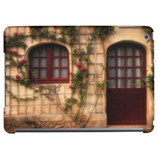 Doorway of rose cottage iPad air cover