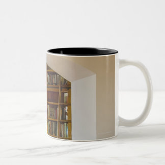 Doorway to Home Library Two-Tone Coffee Mug
