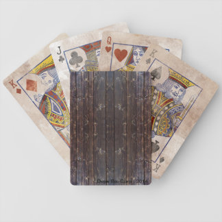 Dope Boi Dirty wood Bicycle® Playing Cards