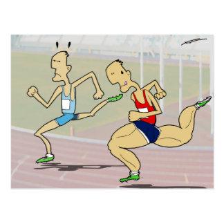 Doping Postcard