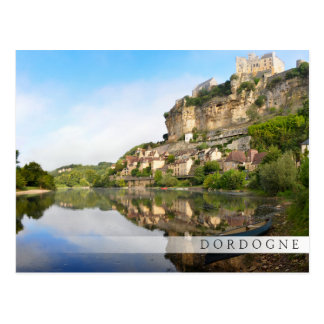 Dordogne and Beynac-et-Cazenac bar postcard
