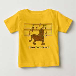 Dorothy The Dancing Dachshund Baby T-Shirt