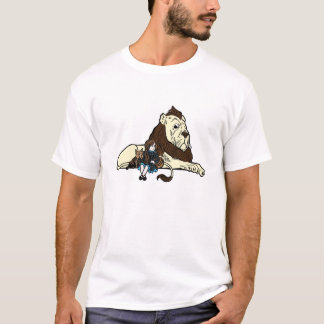 Dorothy, Toto, Cowardly Lion great Wizard of Oz T-Shirt