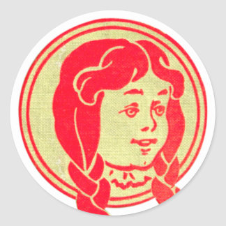 Dorothy, Wizard of Oz Classic Round Sticker
