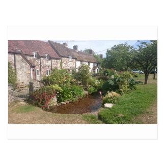 Dorset Cottage, England Postcard
