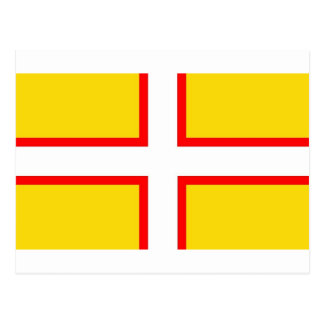 Dorset Flag Postcard