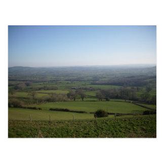 Dorset View Postcard
