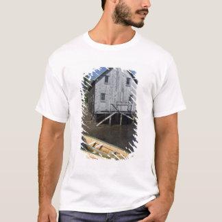 Dory builder,Lunenburg, Nova Scotia, Canada T-Shirt