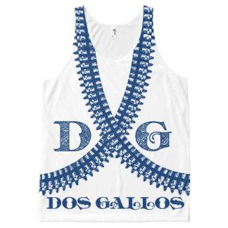 Dos Gallos Bullet Belt Tank - Blue