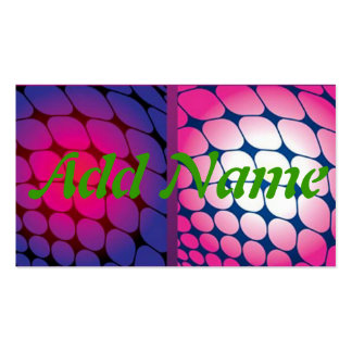 Dot abstract Design Pink Purple Pack Of Standard Business Cards