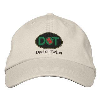 DOT (Oval-BGR) Baseball Cap