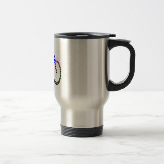 Dot Painted Cycle : Your Group Identity Stainless Steel Travel Mug