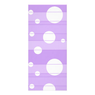 Dots and Stripes in FairytalePurple Rack Card