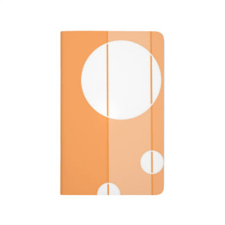 Dots and Stripes in Orange Journals