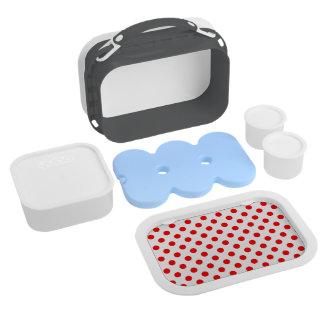 DOTS - DEEP ORANGE (a polka dot design) ~ Lunchboxes