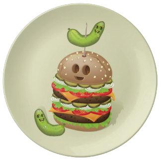 Double Burger Evil Face Plate