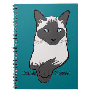 Double Crossed Notebook