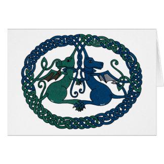 Double Dragon Crest card
