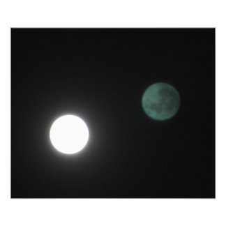 Double Hunters Moon Photograph