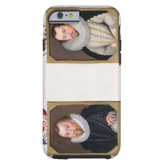 Double portrait of Sir Francis Drake (c.1540-96) a Tough iPhone 6 Case