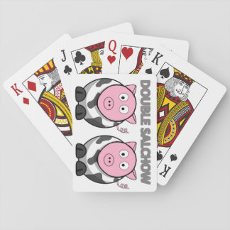 Double Salchow Playing Cards