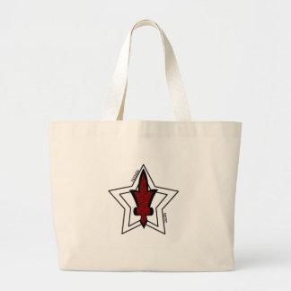 Double stars jumbo tote bag