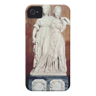 Double statue of the Princesses Louise (1776-1810) iPhone 4 Cases