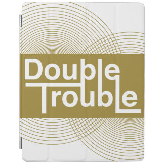 Double trouble iPad cover